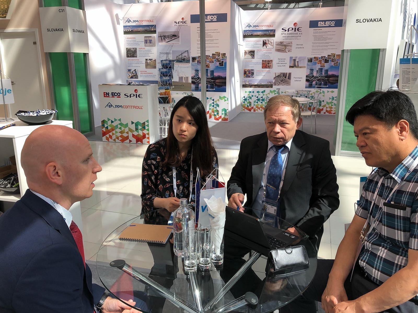 AtomeXpo 2018: VUJE nadviazal spoluprácu s Južnou Kóreou