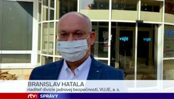 Branislav Hatala z VUJE pre RTVS: Na relatívne malej ploche vieme z jadra vyrobiť veľký objem energie