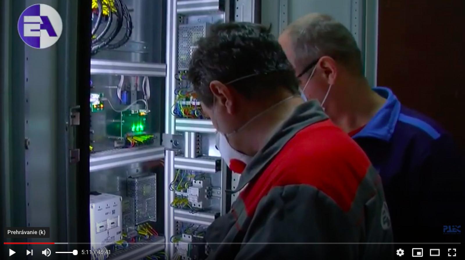 Ďalší úspech v Rovenskej JE: Systém merania koncentrácie vodíka na 4. bloku sme uviedli do prevádzky