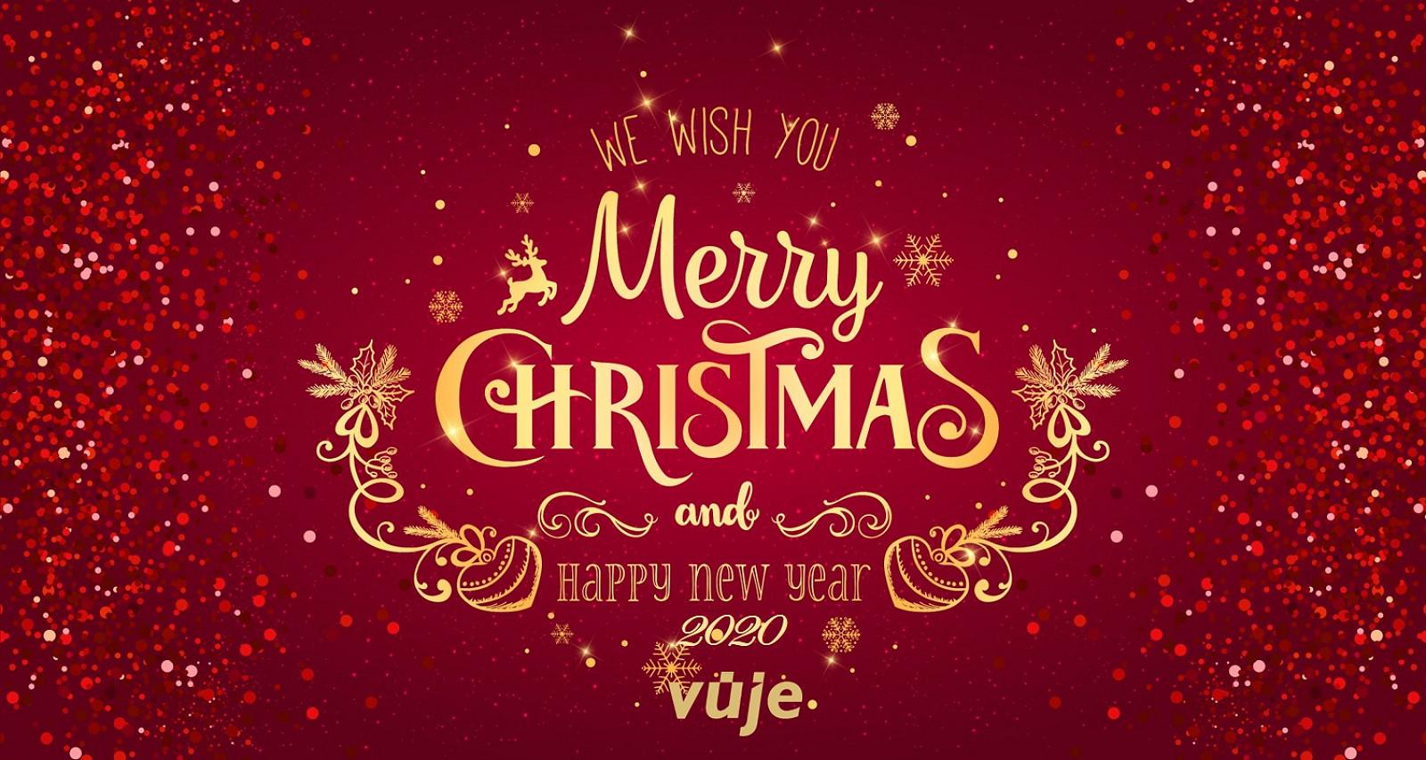 VUJE praje všetkým krásne vianočné sviatky a šťastný nový rok 2020