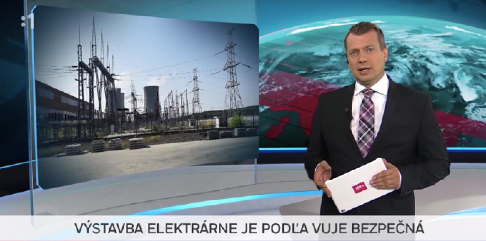 Výstavba elektrárne je podľa spoločnosti VUJE bezpečná