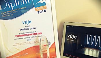 Profilové video VUJE ocenili odborníci 1. miestom