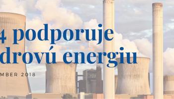 V4 podporuje jadrovú energiu