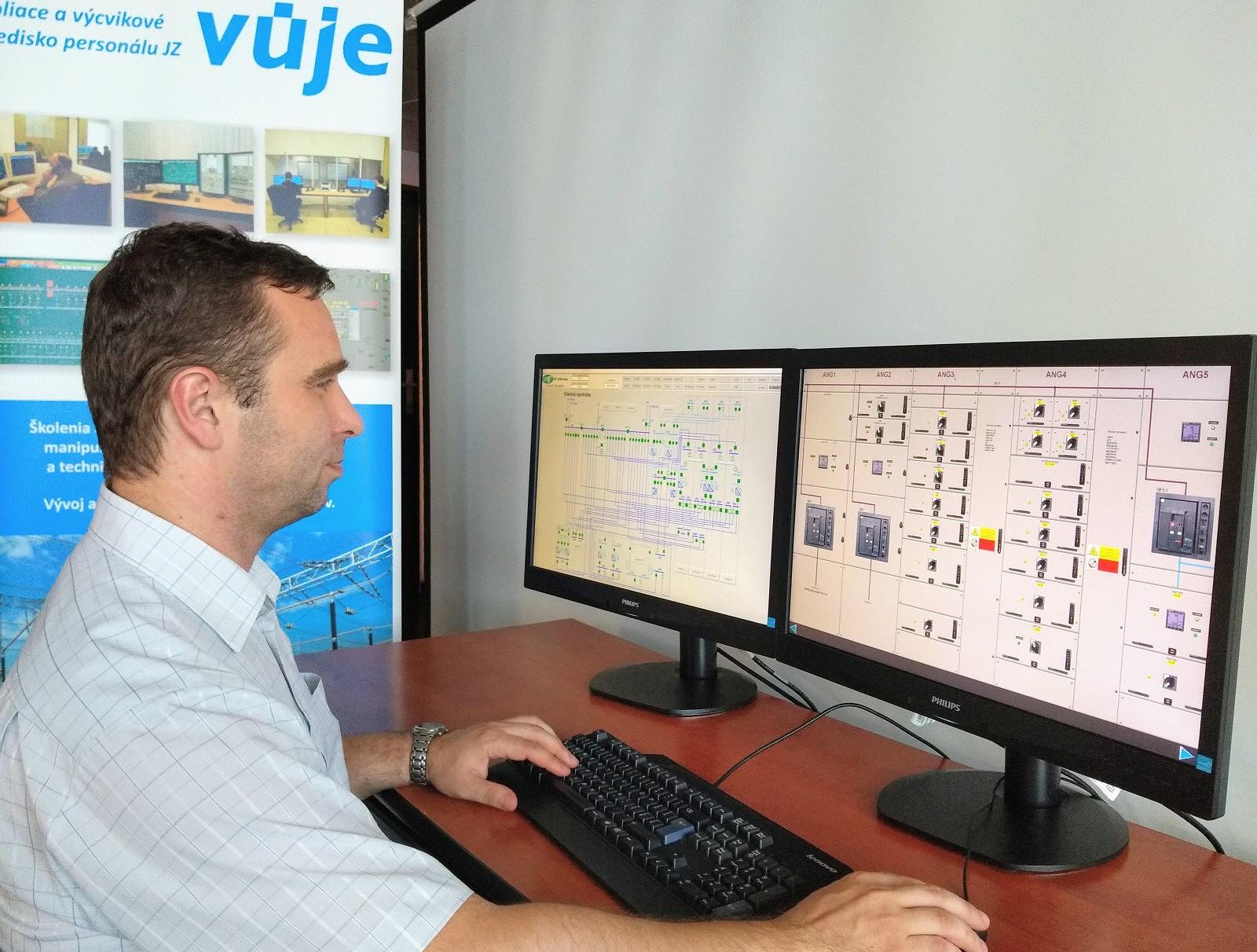 VUJE, a.s., odovzdala Slovenskej elektrizačnej prenosovej sústave, a.s., simulátor vlastnej spotreby pre elektrickú stanicu Križovany