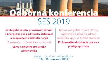 VUJE partnerom odbornej konferencie SES 2019
