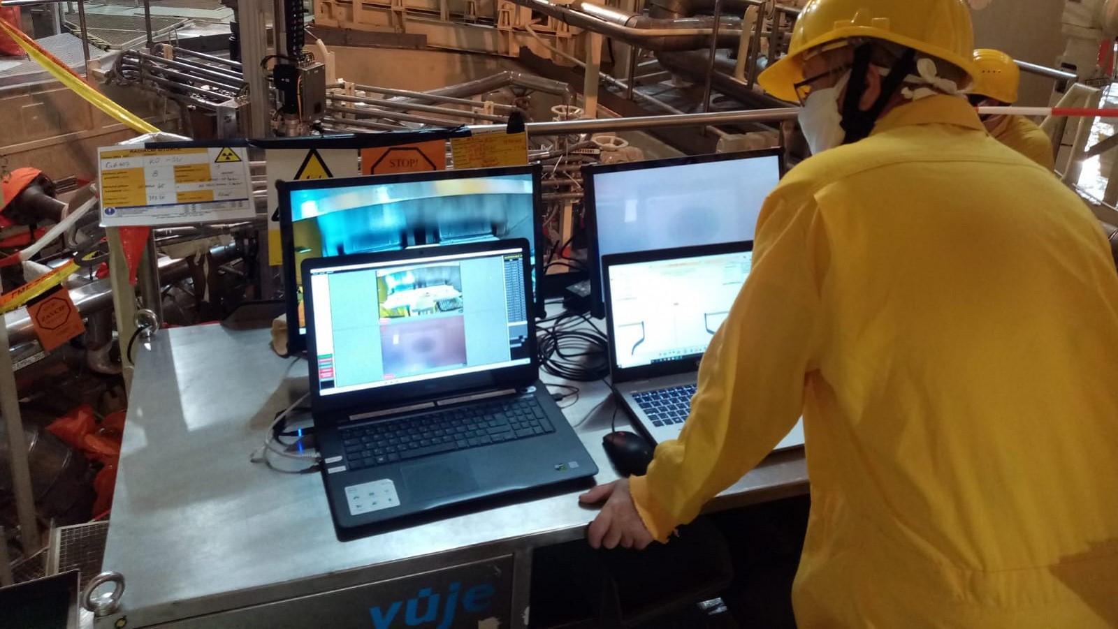 VUJE провело контроль компенсатора давления на АЭС Темелин